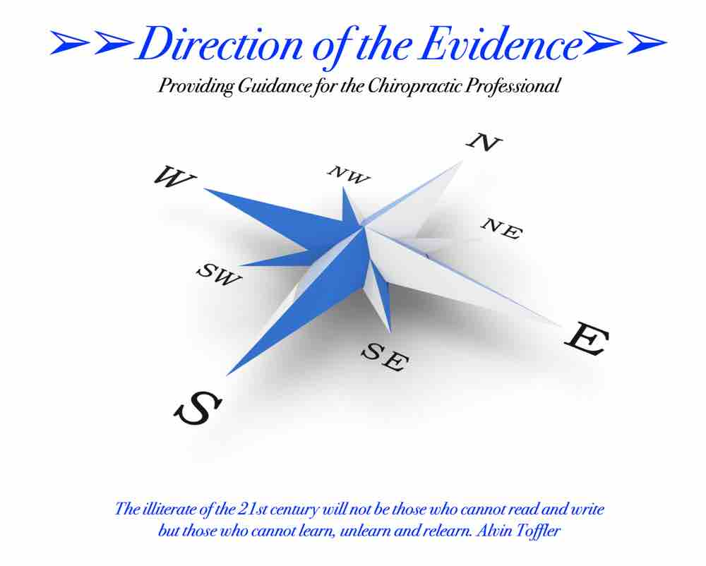 Direction of the Evidence Logo